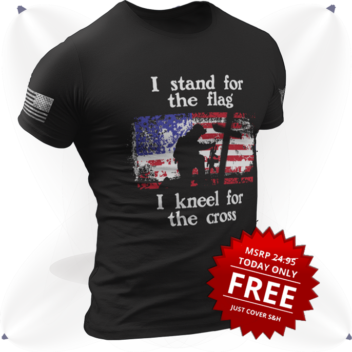 I Stand for the Flag FREE Shirt